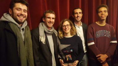 Électeurs en herbe reçoit le Prix de la démocratie 2019