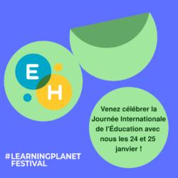 Rejoignez Électeurs en herbe pour le festival #LearningPlanet 2021 !
